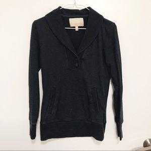 Banana Republic Dark Gray Long Sleeve Sweater